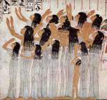 Female Mourners - Tomb of Ramose - 18th Dynasty